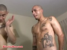 Hot gay Mexican latino men fuck hard and cum all over each other
