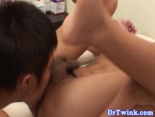 Piss fetish twinks bareback fuck at doctors office