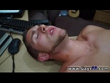 Gay male stars cumshot Guy finishes up with ass-fuck hump threesome