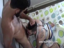 Hairy Amateur Deep Throat