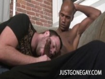 Billy Long and Ryan Starr: Black Cock Dominating A White Ass