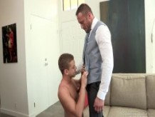 DylanLucas Suited Up Daddy Takes Control Over Twink